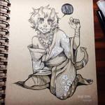 toned paper commission for krimxonrath