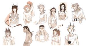 Sketch Commission Dump