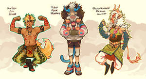 [Closed] Tribal Pop ADOPTABLE AUCTION