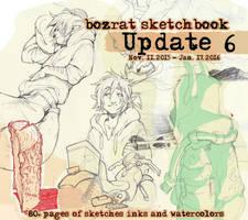 Sketchbook Update #6 Nov. 11, 2015 - Jan. 17, 2016 by HJeojeo