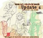 Sketchbook Update #6 Nov. 11, 2015 - Jan. 17, 2016