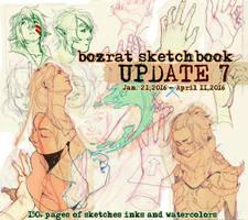Sketchbook Update #7 Jan. 21 to April 11, 2016 by HJeojeo