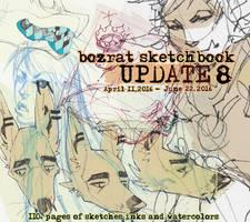 Sketchbook Update #8 April 11 - June 22, 2016 by HJeojeo