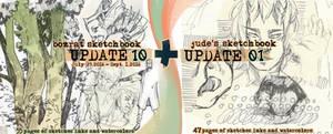 Sketchbook Update #10 ft. Jude by HJeojeo