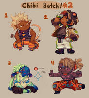 [OPEN! 1/4 ] Adopts - Chibi Batch #2 [FLAT SALE] by HJeojeo