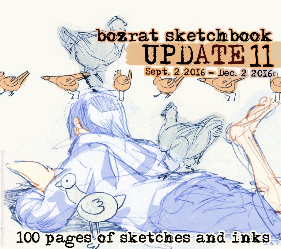 Sketchbook Update #11 by HJeojeo