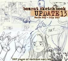 Sketchbook Update #13 by HJeojeo