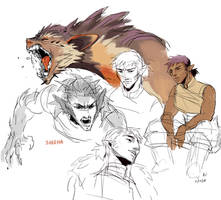Sheena sketches by HJeojeo