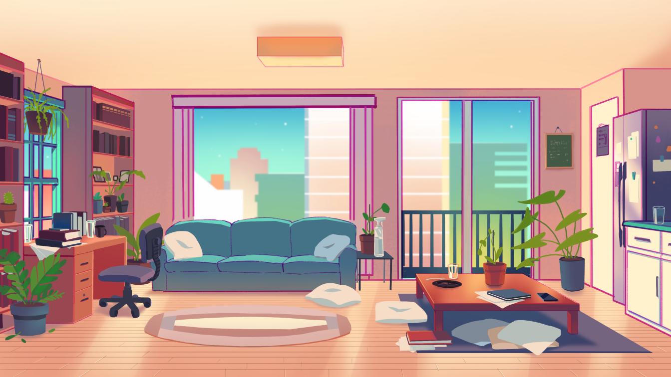 Anime Backgrounds Room - Anime Room Wallpapers, HD Desktop ...