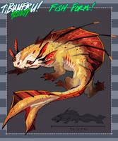 [Tibumeru] Activity - Helio's fish form by HJeojeo