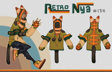[closed] Retro Nya Adopt #134 [Auction] by HJeojeo