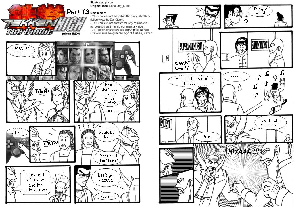 Tekken High: Pt 13 by pricon