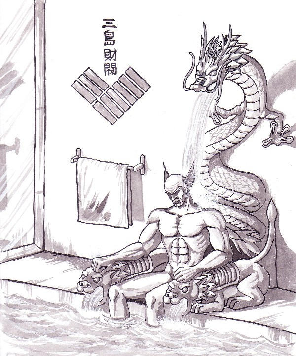 Heihachi at Home by pricon