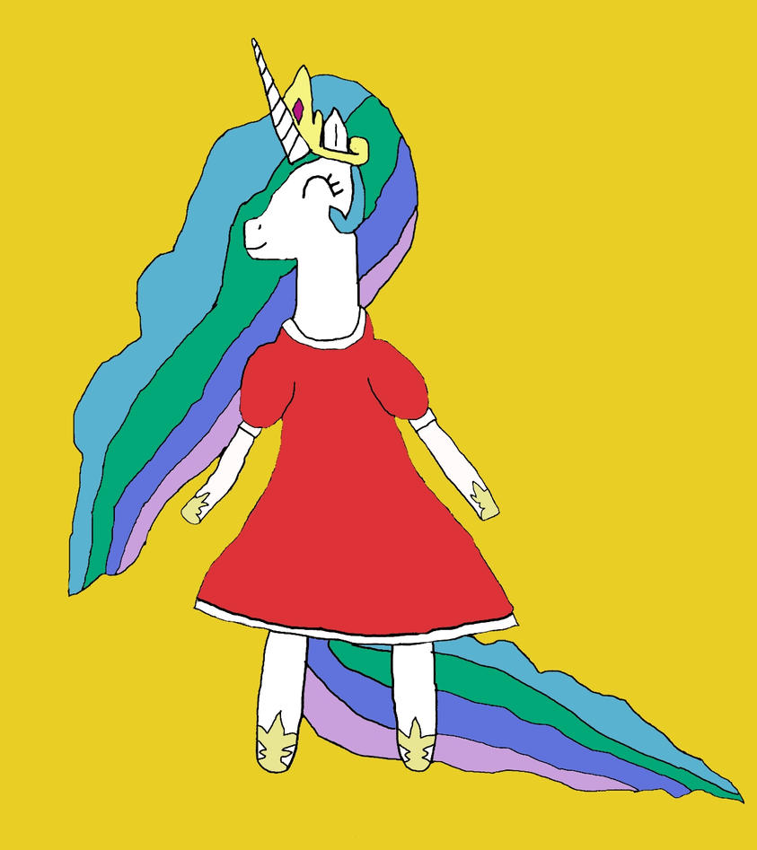 Celestia as Hinawa by Red-Supernova64