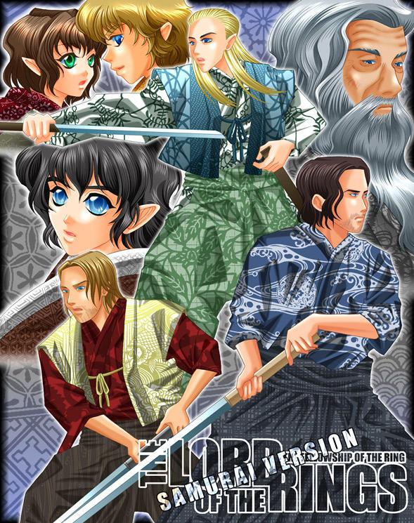 LOTR FOTR Samurai Version by kaz320