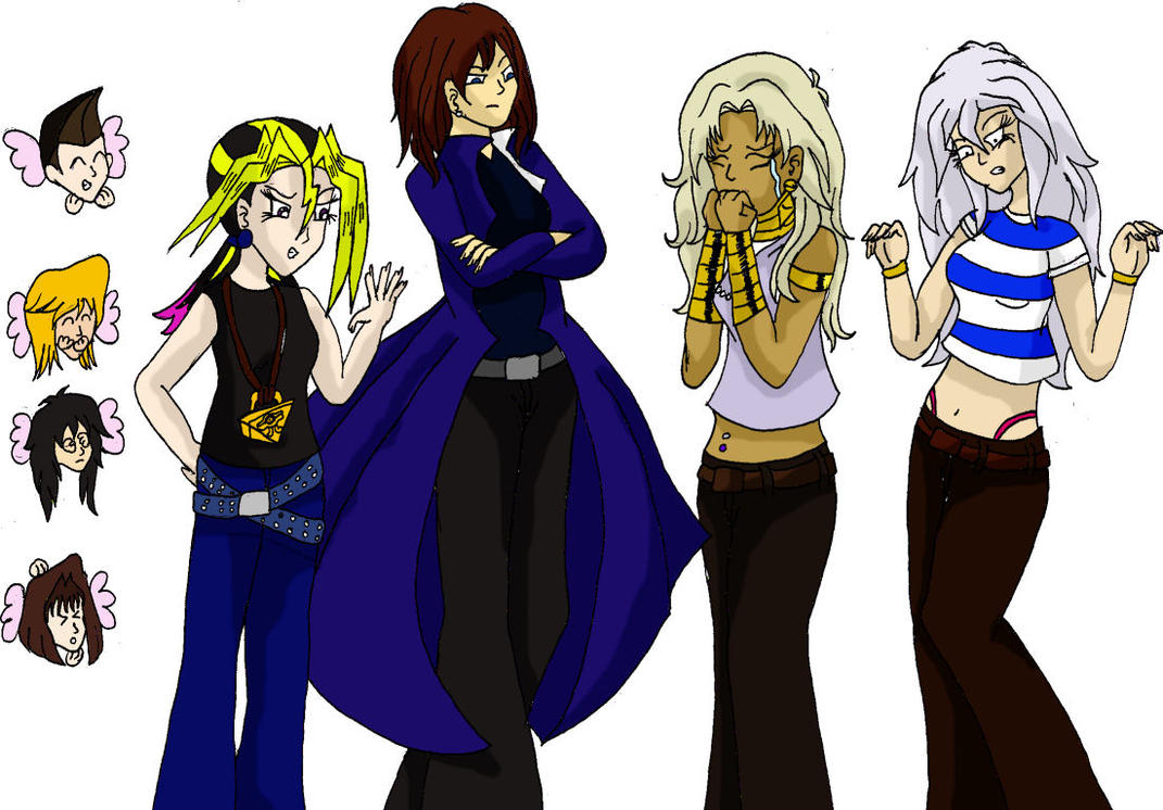 Hot pic of yugioh girls are