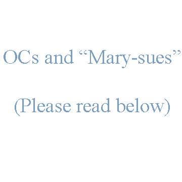 Writing/RPing tip: ''Mary-Sues'' by StickieBun13
