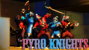 The Pyro Knights by Robogineer