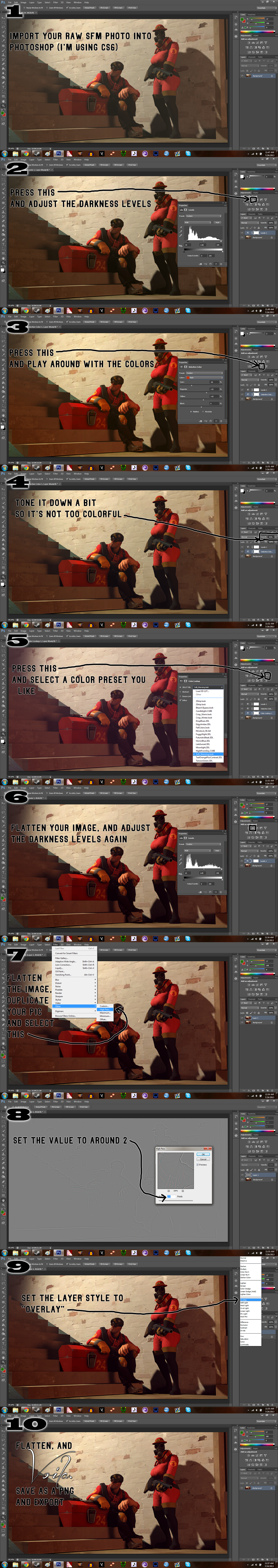 ... How to Edit SFM Pictures in Photoshop by Robogineer & How to Edit SFM Pictures in Photoshop by Robogineer on DeviantArt azcodes.com