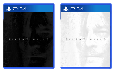 Silent Hills PS4 Cover