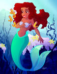 Loving our new Ariel by Little-Miss-Poppet
