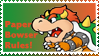 Paper Bowser Stamp by Teeter-Echidna