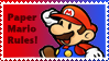 Paper Mario Stamp by Teeter-Echidna