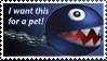 Chain Chomp Stamp by Teeter-Echidna