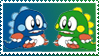 Bubble Bobble Stamp by Teeter-Echidna