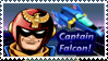 Captain Falcon Stamp by Teeter-Echidna