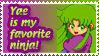 Yae Stamp by Teeter-Echidna
