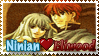 EliwoodxNinian Stamp by Teeter-Echidna
