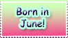 Born in June by Teeter-Echidna