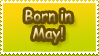 Born in May by Teeter-Echidna