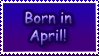 Born in April by Teeter-Echidna
