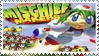 Mischief Makers Stamp by Teeter-Echidna