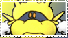 Yellow Dr. Mario Virus Stamp by Teeter-Echidna
