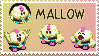 Mallow Stamp by Teeter-Echidna