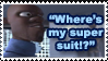 Where's My Super Suit Stamp by Teeter-Echidna