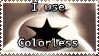 Colorless Stamp by Teeter-Echidna