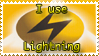 Lightning Stamp by Teeter-Echidna