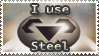 Steel Stamp by Teeter-Echidna
