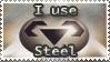 Steel Stamp by Teeter-Echidna