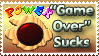 Game Over Sucks Stamp by Teeter-Echidna