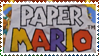 Paper Mario Logo Stamp by Teeter-Echidna