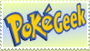 PokeGeek stamp by Teeter-Echidna