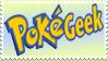 PokeGeek stamp by Teeter-Echidna