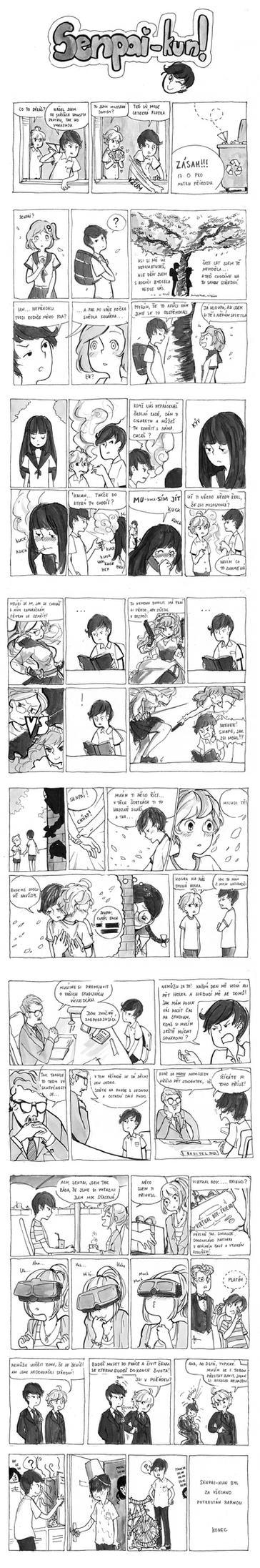 Senpai-kun by Haspien
