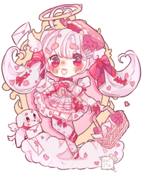 Love Letter Deliver Shades of Pink Auction (OPEN) by Bai-Jiu