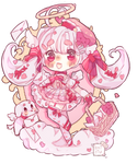 Love Letter Deliver Shades of Pink Auction(closed) by Bai-Jiu